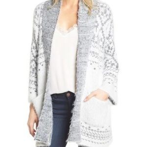 CUPCAKES AND CASHMERE | Raveena Fair Isle Cardigan